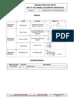 L1-CHE-INS-012 CBI To CIS (Pride) Telemetry Interface