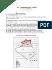 Données climatiques de l'Algérie