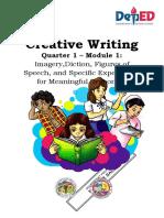Creative Writing Module 1