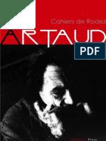 ANTONIN ARTAUD, Cahiers de Rodez
