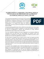 Acuerdo Vox PJA 2021 Con Logos