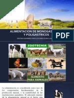 ALIMENTACION DE MONOGASTRICOS Y POLIGASTRICOS