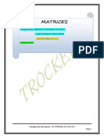 Matrices Notes By Trockers