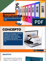 Gestión Documental DIAPOSITIVAS