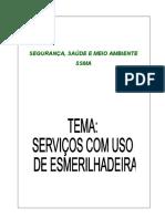 Treinamento      Serviços de  Esmerilhadeira..ppt