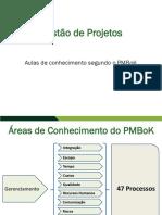 Aula 04 - Areas de conhecimento segundo PMBOK