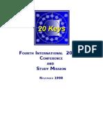 REPORT ON JAPAN VISIT NOV 1998