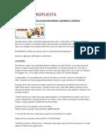 ACTIVIDADES DIA DE LA Educación Física 2 ciclo