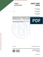 ABNT NBR 14628 - Trava-quedas retrátil