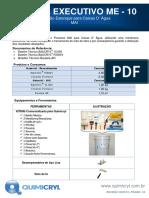 ME10 - Proteção Estanque para Caixas D' Água - 4 pags