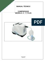 Manual Técnico Compressor C - 71 PLUS - OLIDEF