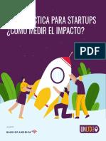 Guía Practica Medición Impacto Startups UnLtd Spain