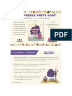The Purple Puffy Coat Teacher Tip Card