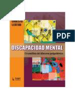 Lentini, Ernesto. Discapacidad Mental - Un análisis del discurso psiquiátrico (Prólogo Ricardo Rodulfo)
