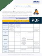 Matematic4 Semana 33 Planificador Ccesa007