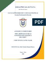 ANALISIS Y COMENTARIO DEL ARTICULO 61