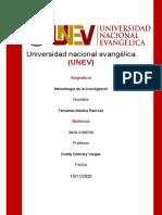 SEMANA#6 METODOLOGIA DE LA INVESTIGACION