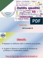 OUTILS DE QUALITE