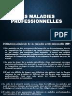 LES MALADIES PROFESSIONNELLES