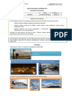 Guía de contenidos y actividades Nº 3, artes tercero