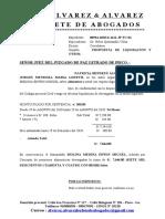 propuesta liquidacion
