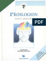 Santo Anselmo, Proslogion, Texto Integral.pdf