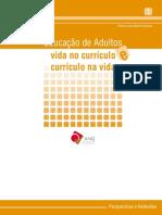 educação de adultos vida no curriculo curriculo na vida