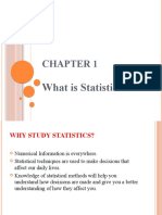 Ch-1, What is Statistics - Copy
