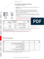 DC Controls from Baldor 2018 CA501 catalog