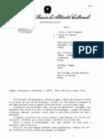 Risposta del ministero sull'interrogazione dell'Italia dei Valori sulle Navi Romane a Pisa