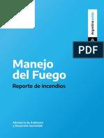 Reporte Nacional de Fuego