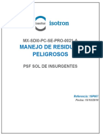 ANEXO 49 MX-SDI0-PC-SE-PRO-0021-A Manejo de Residuos Peligrosos