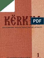 Rrugetimi Historik nga DorëShkrimet te Shtypshkrimet dhe arketipat e tyre