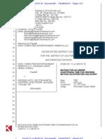 Sony v. Hotz (61) - Judge Denies Sony\'s Motion to Shorten Time