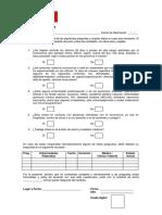 Cuestionario Coronavirus