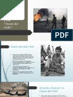 Primera Invasión a Irak (1)