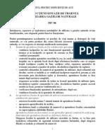 ISU 06 - Instructiuni pentru utilizarea gazelor naturale