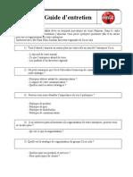 Questionnaire Coca