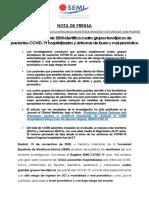 NOTA DE PRENSA-SEMI