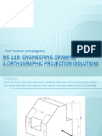 solution(orthographic projection)1