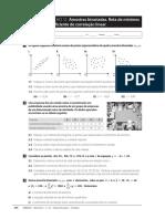 Ficha de Trabalho 12 - 11 Ano - Amostras Bivariadas, Recta de Minimos Quadrados e Coeficiente de Correlacao Linear.pdf