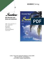 """Press Release """"Sunshine"""" (Trilogie, 2) von Christof Wolf"""