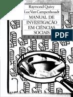 285583617 Manual de Investigacao Em Ciencias Sociais