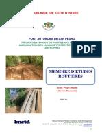 Mémoire d'Etudes danané-guinée 1