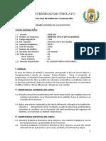 MODELO DE SILABO POR COMPETENCIA IIS
