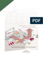 ITAC 100 Implementation guide for SAP (V2012)