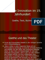 Theatrale Innovation im 19