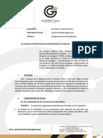 Apelacion Christian Ayuque y Otro - Cesacion de Prision Preventiva