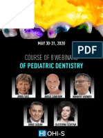 Course of 8 webinars of Pediatric dentistry congress on may 30-31