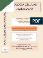 Manual de Biolgia Celular 5 primeras prácticas - 2 OCT 2020